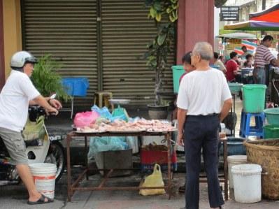 Street wet market