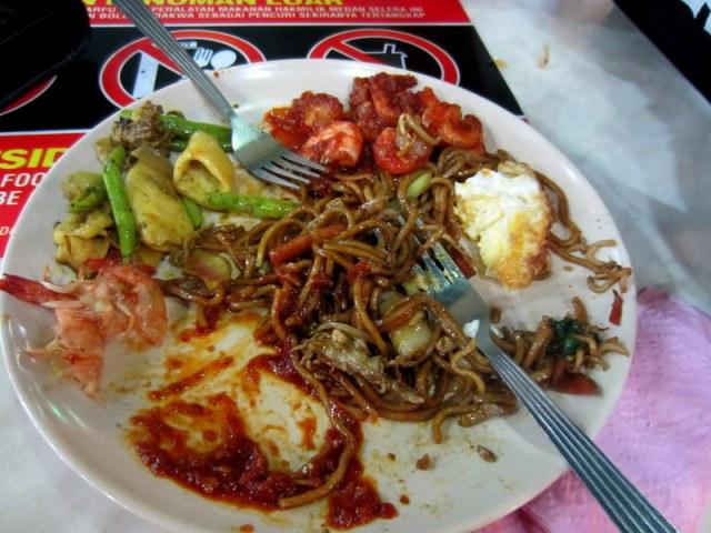 KL Sentral Food court breakfast