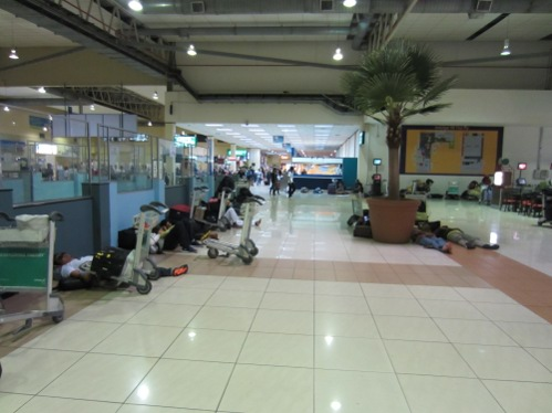 People take to the floor of LCCT
