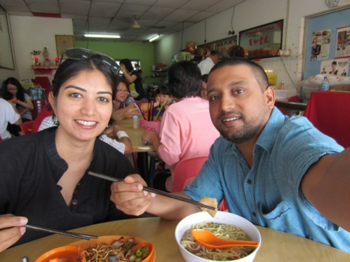 Chinese food in Kuah town
