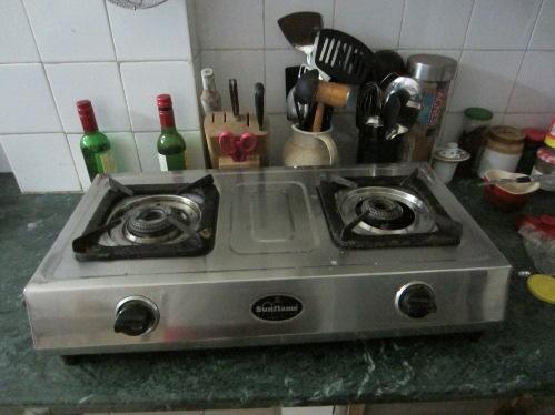Old 2 burner stove