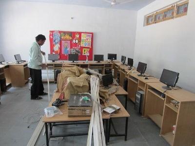 Computer room in progress
