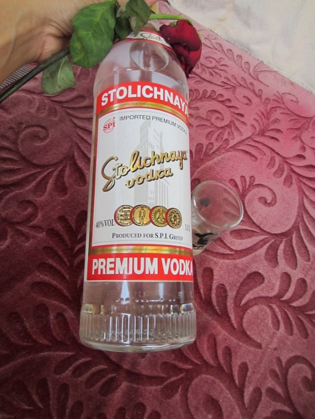 Stolichnaya to the rescue