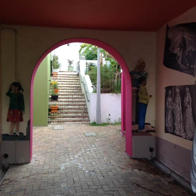 Bo'Kaap murals