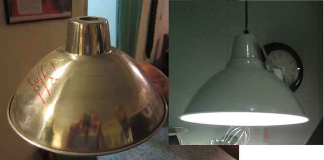 Uran and Ikea lampshades compared