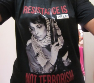 Resistance is not terrorism - Leila Khaled