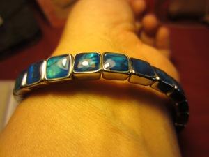 Paua bracelet