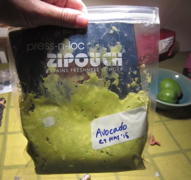 frozen avocado